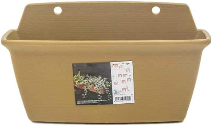 NOBRAND Macetas de plástico de Resina ecológica macetas de múltiples Plantas macetas de rábano Verde macetas Colgantes de Pared macetas Colgantes