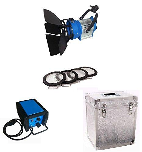 Kinosun PRO 200W HMI Par Light + Electronic Ballast AC +4*Lenses +Flycase Flicker-free