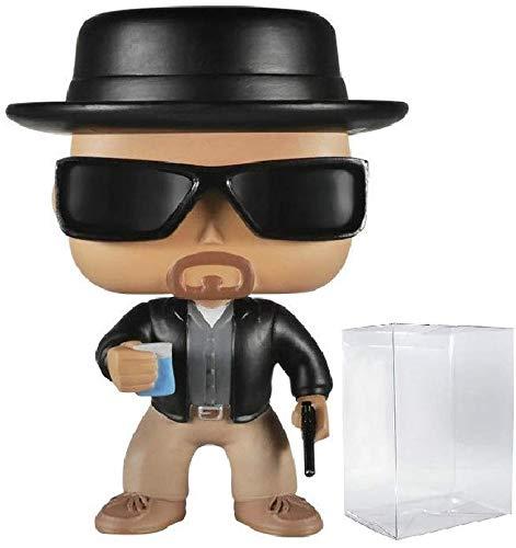 Funko Pop! TV: Breaking Bad - Heisenberg Vinyl Figure (Bundled with Pop BOX PROTECTOR CASE)