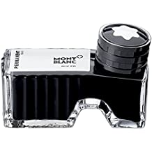 Montblanc Ink Bottle Permanent Black 107755 – Document-Proof Refill Ink in Black for Fountain Pens, Quills, and Calligraphy Pens – 60ml Inkwell