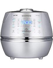 CUCKOO CRP-CHSS1009FN Stoomdruk-rijstkoker Rice Cooker 1,8 l 10 kopjes | IH inductie-verwarmingstechniek | programmeerbaar | GABA-rijst | DSP-technologie | veiligheidsdampventiel