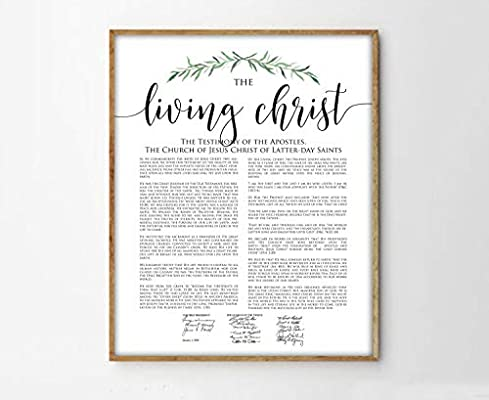 picture relating to The Living Christ Free Printable identified as : TimPrint The Dwelling Christ Print Impressive LDS