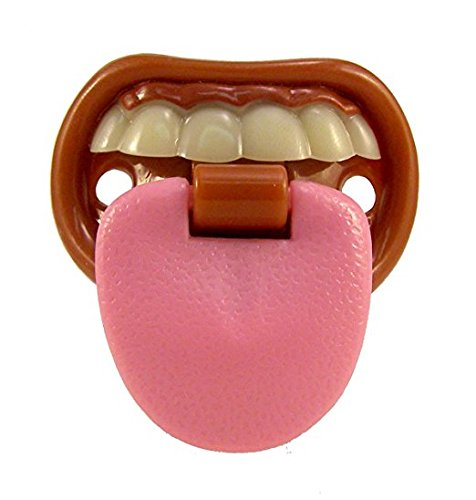 Billy Bob Teeth Baby with Attitude Tongue Novelty Baby Pacifier