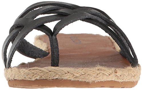 Vintage Check Negro sandalias In Volcom Black mujer Vintage wqO6vXAxY6