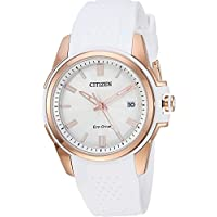 Citizen Watches Women's FE6136-01A Eco-Drive White One Size
