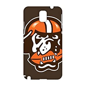 SHOWER 2015 New Arrival cleveland browns logo 3D Phone Case for Samsung NOTE 3