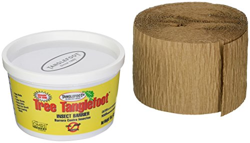 - Tanglefoot Tree Care Kit - Tree Insect Barrier & Tangle-Guard Wrap Combo