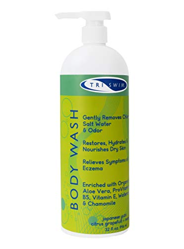 TRISWIM Chlorine Out Body Wash, 32 Ounce (Body Wash Swimmers)