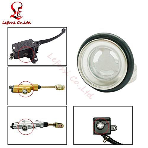 Amazon.com : Accessories Motorcycle 18mm Sight Glass Lens ...