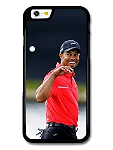 Tiger Woods Golf Legend Sport Smiling case for iPhone 6 A10683