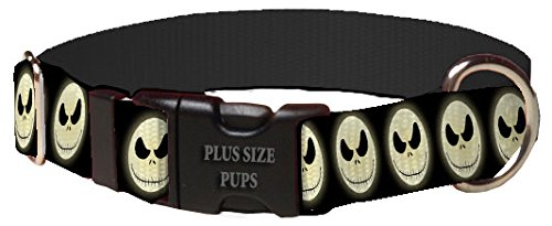 Halloween Dog Collar - Jack Skellington Dog Dog Collar (Fits Dog 9 to 15 Pounds) -