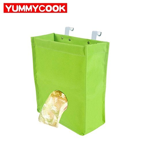 Lovetosell123 Multifunction Hanging Storage Bag For Garbage pouch Gloves Sock Kitchen Familly Organization Home Accessories Supplies (Color : Beige) by Lovetosell123 (Image #4)