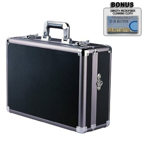 Pro Aluminum Hard Case (Pro Aluminum Hard Case For The Canon VIXIA HV40, HV30, HV20, HG10 High Definition Camcorders)