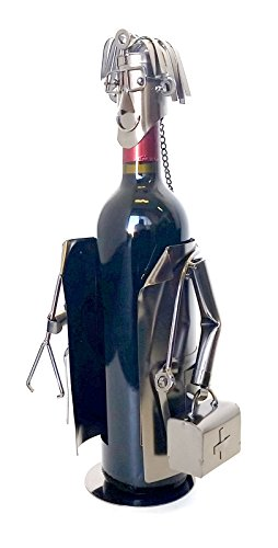 Bellaa Hand Made Designer Wine Holder a Gift for a Doctor, Collection LTD Edition by Bellaa