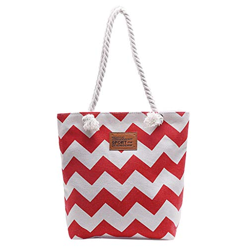 Pengy Women Causal Shopping Bag Shopper Tote Shoulder School Bag Simple Stripe Design for Holiday (Infinity Shoulder Elite Tote)