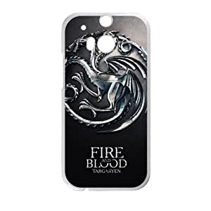 Fire Blood Cell Phone Case for HTC One M8