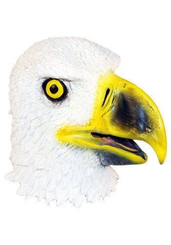 Eagle Mask : Deluxe Latex Animal Mask (Realistic Masks For Sale)