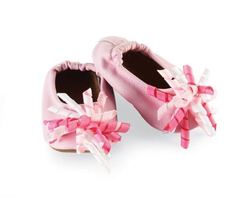 Mud Pie Baby-girls Newborn Lily Pad Curly Grosgrain - Mud Pie Shoes
