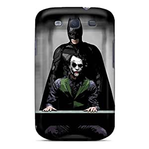 Tpu Case Cover For Galaxy S3 Strong Protect Case - Batman Joker Design
