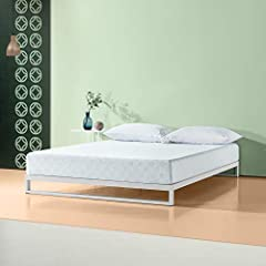 Enjoy the cool comfort and support of Gel-infused Green Tea Memory Foam for a better night's sleep. The Gel-infused Memory Foam and Pressure Relieving Comfort Foam provide support by conforming to the natural shape of your body. The High-dens...