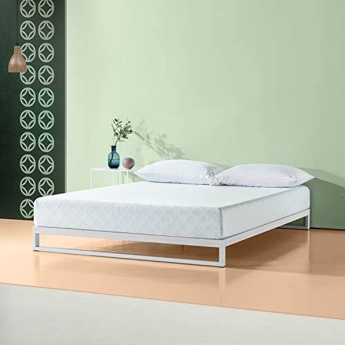(Zinus 8 Inch Gel-Infused Green Tea Memory Foam Mattress,)
