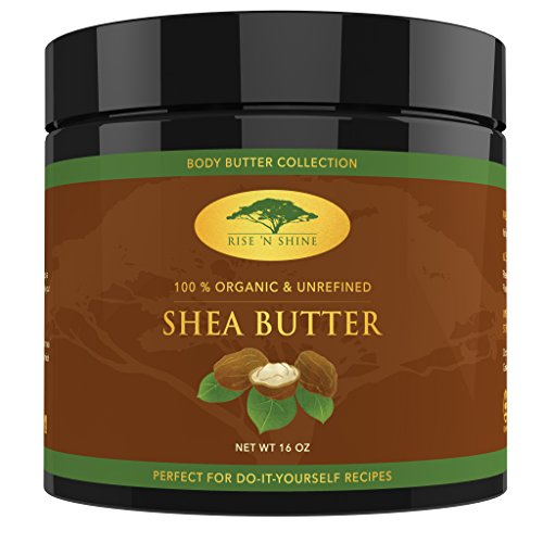 (16 oz) Raw Shea Butter with RECIPE EBOOK - Perfect for All (Regenerating Night Balm)