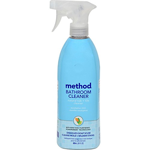 Method Natural Tub & Tile Bathroom Cleaner - Eucalyptus Mint - 28 oz (Natural Bathroom Tiles)