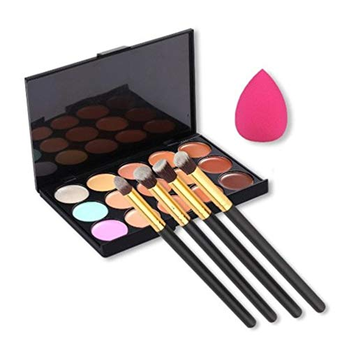 U Beauty Contour Concealer Palette Brushes