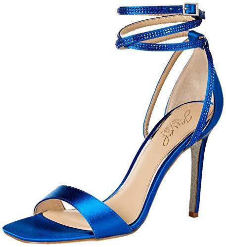 Jewel Badgley Mischka Women's SHAYLEE Sandal, electric Blue, 6 M US