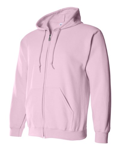 Gildan Adult Heavy Blend Full Zipper Hood Pocket Sweatshirt
