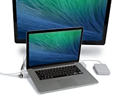 "Landingzone Dock 13"" Secure Docking Station For Macbook Pro With Retina Display Model A1425 & A1502 Released 2012 To 2015"