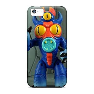 Shockproof Cell-phone Hard Cover For Iphone 5c With Customized High-definition Big Hero 6 Skin LauraAdamicska