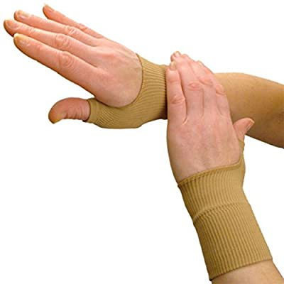 Compression gloves,gloves for arthritis ,1Pairs Beige Colors Arthritis Gloves Medical Wrist Thumbs Hands Spica Splint Support Brace Stabiliser Arthritis #84843,arthritis compression gloves