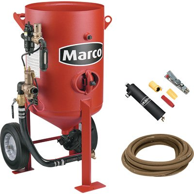 - Marco 6.0 Cu. Ft. Blast Machine - Model# 10POTPACKAGE6NTI