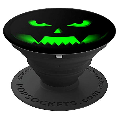 Halloween Pumpkin Scary Gift for Halloween Party - PopSockets Grip and Stand for Phones and Tablets -
