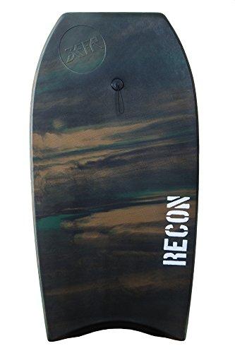 ZEFR Recon 42″ Bodyboard/Leash Indestructible Will Never Peel Apart or waterlog
