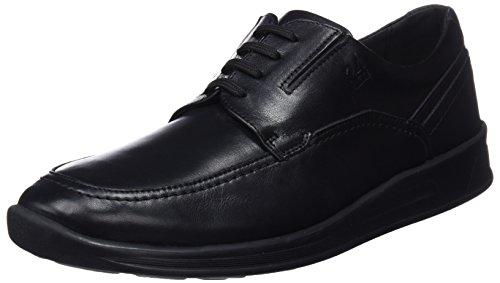 de Cordones para Zapatos Horas 10317 24 Negro Hombre Oxford Negro 7 wtIBHnq