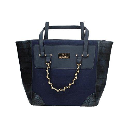 Serpient Bolso Simil Azul Xti Mujer Bolsos 85623 carteras qtBxzaOw