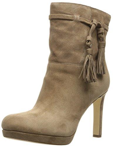 Ankle Women's Bristol Spiga Via Taupe Bootie Dark 4Otq11x5n