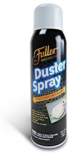 Fuller Brush Duster Spray - Wood & Multi Surface Dust Attractor & Cleaner – 15.5 oz