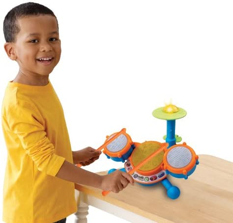 toys, games, learning, education, musical instruments,  drums, percussion 12 picture VTech KidiBeats Kids Drum Set promotion
