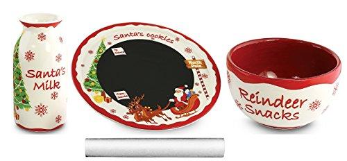 KOVOT Santa Message Plate Set