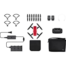 DJI CP.PT.000901 Spark Palm launch, Intelligent Fly More Combo, Lava Red