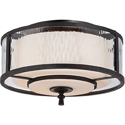 Quoizel ADS1615DC 2-Light Adonis Flush Mount in Dark Cherry