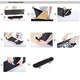 Bestkiy 2 Sheet Skateboard Grip Tape 33x9 inch