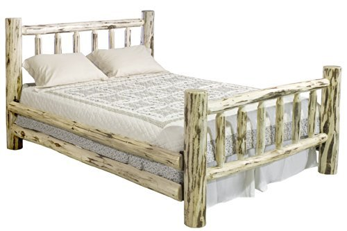 Montana Woodworks MWCAKBV Montana Collection Bed, California King, Clear Lacquer Finish