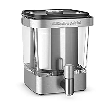 Image of Home and Kitchen KitchenAid KCM5912SX Cold Brew Coffee Maker 38 Ounce Brushed Stainless Steel