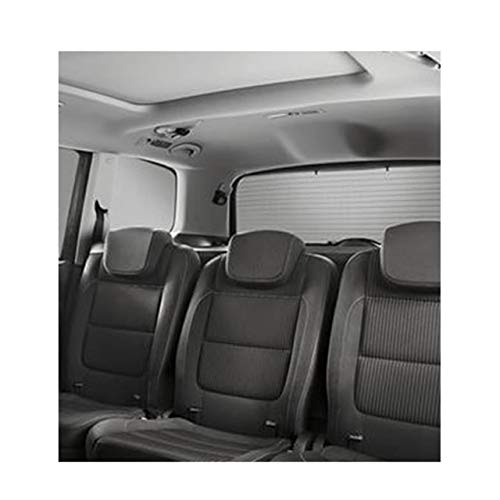 Genuine SEAT Rear Window and Rear Side Window Kit - Black Alhambra 2010 > 2015 (7N5064365A):