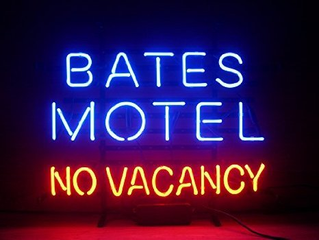 New Larger Bates Motel No Vacancy Neon Light Sign 20''x16'' H140(No More Long Waiting for WEEKS/MONTHS with Fast Shipping From CA With FREE USPS Priority Mail) (No Vacancy The Best Of The Motels)