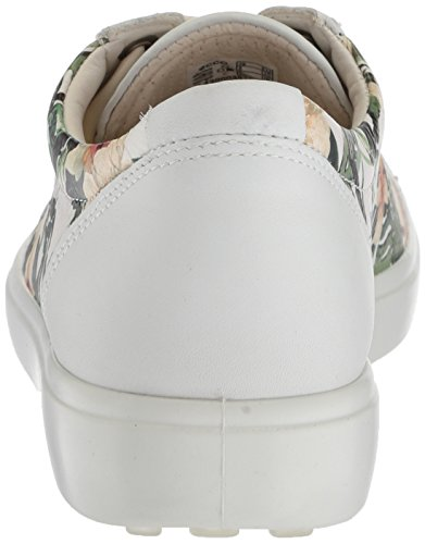 Soft Ladies 7 Baskets Basses Print Femme flower Multicolore white Ecco 7qFdwABcT7